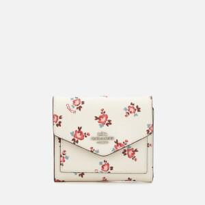 Coach Women's Small Wallet - Chalk Floral Bloom: Image 1