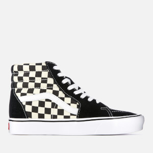 Vans Checkerboard Sk8 Hi-Top Lite Trainers - Black/White