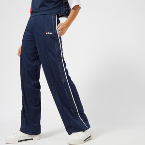 FILA Women's Neka Snap Side Flare Pants - Navy