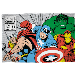Marvel Comics Retro Polar Fleece Blanket