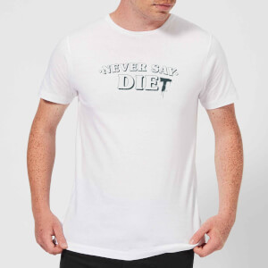 Never Say Die-t T-Shirt - White