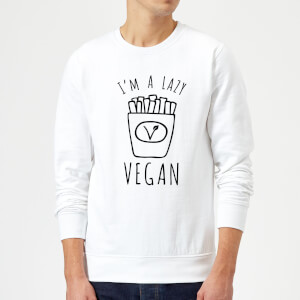 Lazy Vegan Sweatshirt - White