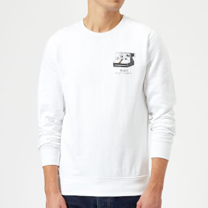 Make Magic Happen Sweatshirt - White