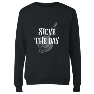 Sieve The Day Women's Sweatshirt - Black