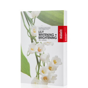Manefit Beauty Planner Lily Whitening + Brightening Mask (Box of 5): Image 1