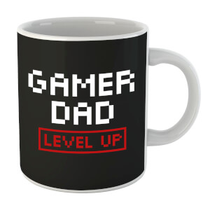 Tasse Gamer Dad Level Up