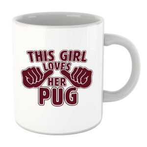 This Girl Loves Her Pug Mug