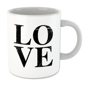 Love Textured Mug