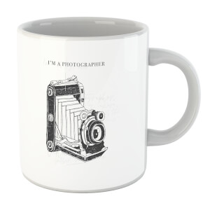Photography Vintage Scribble Mug