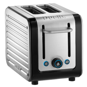 Dualit 26505 Architect 2 Slot Toaster - Brushed Steel/Black