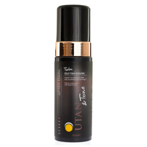 UTAN and Tone After-Dark Turbo Mousse 150ml