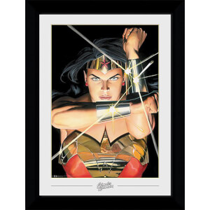 DC Comics Wonder Woman Ross Collector 50 x 70cm Framed Photograph