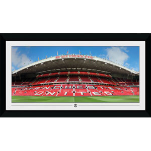 Manchester United Stadium Collector's 50 x 100cm Framed Photograph