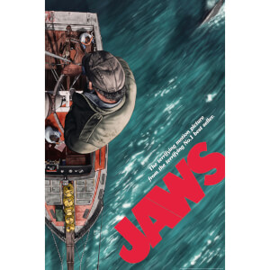 Jaws by Sam Gilbey Limited Edition Fine Art Giclee (24 x 16 Inch) - Zavvi Exclusive Timed Edition