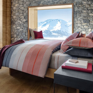 Hugo BOSS Aran Poppy Duvet Cover