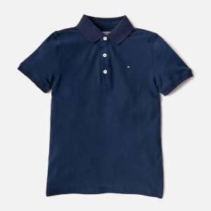 Tommy Hilfiger Boys' Polo Shirt - Black Iris