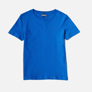 Tommy Hilfiger Boys' Ame Original Crew Neck T-Shirt - Nautical Blue