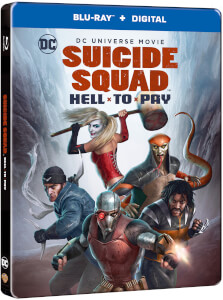 Suicide Squad: Hell To Pay - Steelbook Edición Limitada Exclusivo de Zavvi