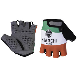 Bianchi Alvia Mitts - Red/White/Green