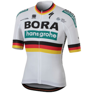 Sportful Bora Hansgrohe BodyFit Team Jersey - German National Champion Edition