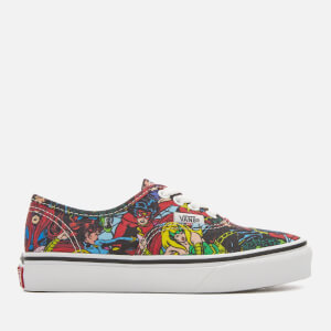 Vans Kids' Marvel Authentic Trainers - Multi/True White