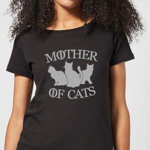Mother Of Cats Black Women's T-Shirt - Black