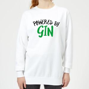 Powered By Gin Women's Sweatshirt - White