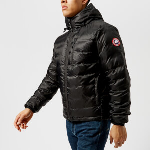 Canada Goose Men's Lodge Hoody Down Jacket - Black/Black