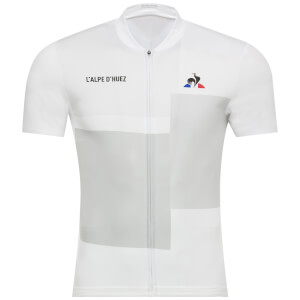 Le Coq Sportif Tour de France 2018 Alpes d'Huez Jersey - White