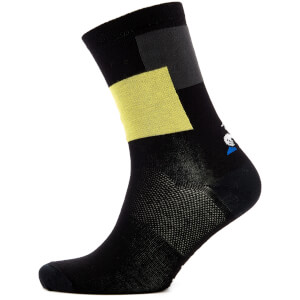 Le Coq Sportif Tour de France 2018 La Grand Boucle Socks - Black/Yellow