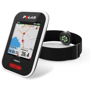 Polar V650 OH1 GPS Cycle Computer Bundle
