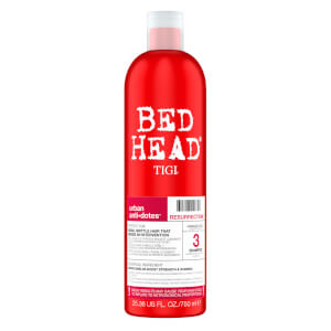 TIGI Bed Head Urban Antidotes Resurrection Repair Shampoo for Very Dry and Damaged Hair Shampoo 750ml