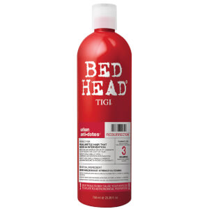 TIGI Bed Head Urban Antidotes Resurrection Repair Shampoo for Very Dry and Damaged Hair 750ml