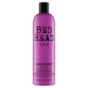 TIGI Bed Head Dumb Blonde Reconstructor for Blonde Coloured & Chemically Treated Hair 750 ml