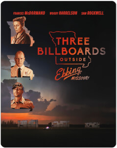 Three Billboards Outside Ebbing, Missouri - Zavvi Exclusive Limited Edition Steelbook: Image 1