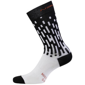 Nalini Fulmine Socks - Black/White