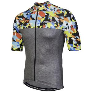 Nalini Centenario Short Sleeve Jersey - Grey/Multi