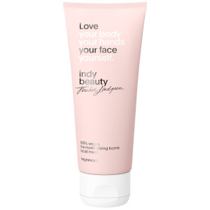 indy beauty the moisturising bomb facial mask