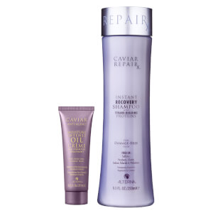 Alterna Caviar Repair Shampoo and Moisture Intense Pre-Shampoo Duo