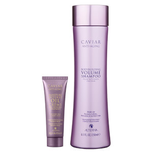 Alterna Caviar Infinite Shampoo and Moisture Intense Pre-Shampoo Duo (Worth £41.50)