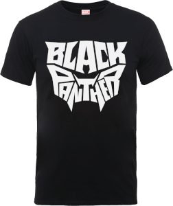 Black Panther Emblem T-Shirt - Black