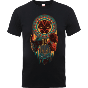 Black Panther Totem T-Shirt - Schwarz