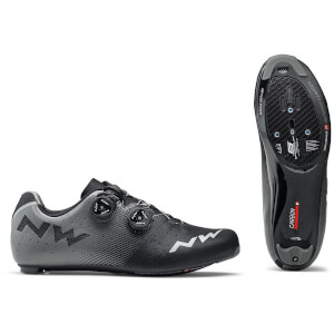 Northwave Revolution Road Shoes - Black/Anthracite