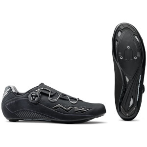 Northwave Flash 2 Carbon Cycling Shoes - Black