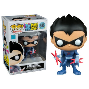 Teen Titans Go! Red X Unmasked EXC Pop! Vinyl Figure