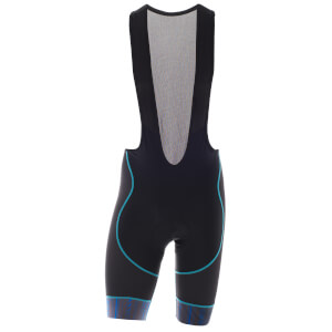 Primal Men's Hyperion Helix 2.0 Bib Shorts - Black/Blue