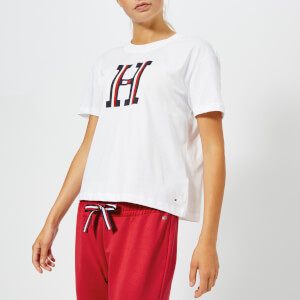 Tommy Hilfiger Women's Brody Crew Neck T-Shirt - White
