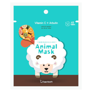 Berrisom Animal Mask Series -kasvonaamio, lammas 25ml