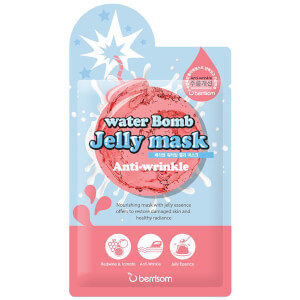 Mascarilla facial Water Bomb Jelly de Berrisom - Antiarrugas 33 ml