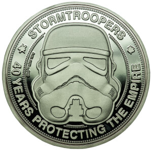 Original Stormtrooper Collector's Limited Edition Coin: Silver Variant